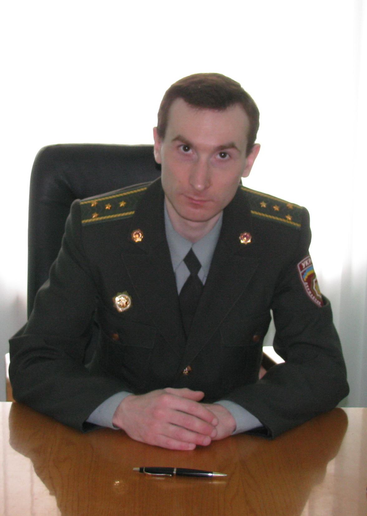 глава инициативной группы по созданию областного профсоюза сотрудников органов и учреждений исполнения наказаний Павел Кравчук
