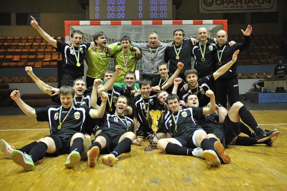 Энергия (Львов) обладатели кубка Украины по футзалу