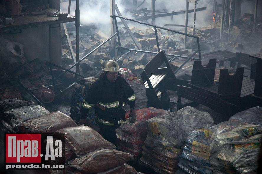 Новая линия, строительный, супермаркет, пожар, Запорожье, газета Правда