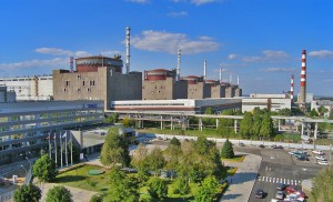 Satellite towns of Ukrainian nuclear power plants demand compensation for risk, while rumors about accidents at nuclear power plants have reached Kiev. In the picture: Zaporozh'ye Nuclear Power Plant.