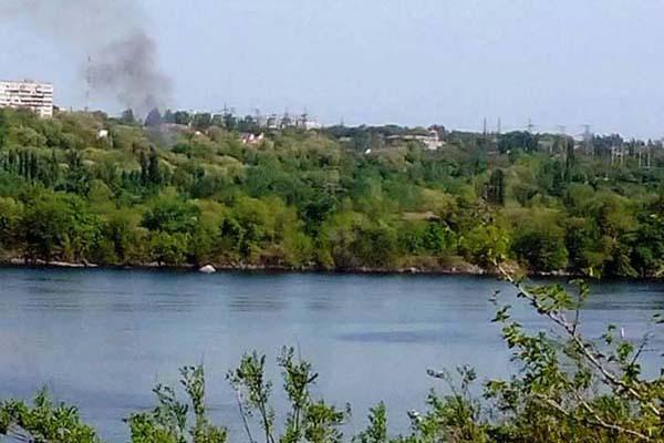НаХортице горела Запорожская Сечь