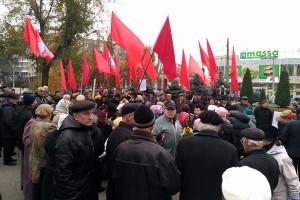 100 лет революции Запорожье
