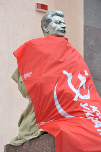Голова Сталина, Сталин