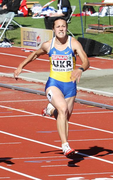Олеся Повх, Запорожье, легкая атлетика