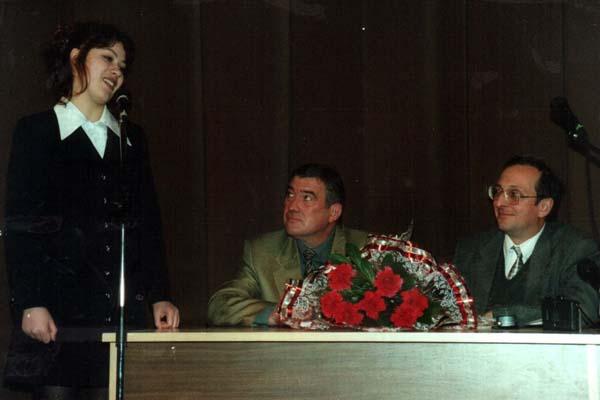Александр Поляк и Ирина Пархоменко