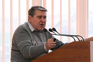 Лидер «Союза советских офицеров» Виктор Яковенко. Фото: mv.org.ua
