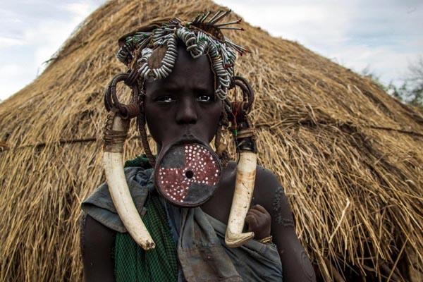 Необычные свадебные традиции Африки-2