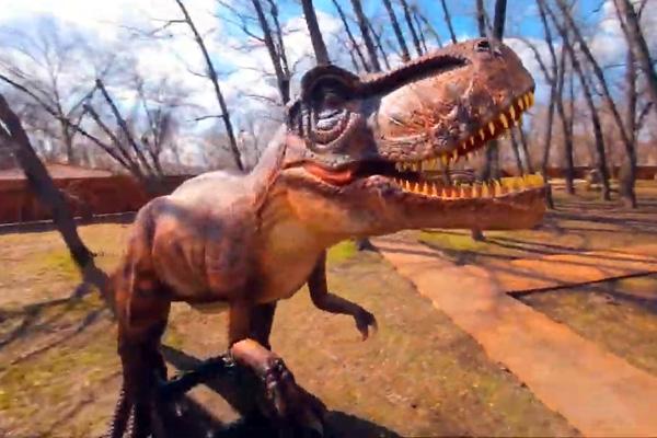 динозавры запорожье